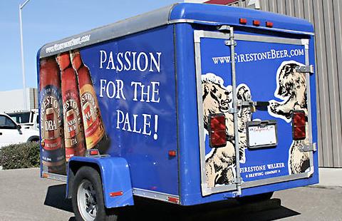 Firestone Ale Trailer Wrap