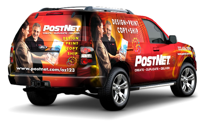 PostNet Vehicle Wrap