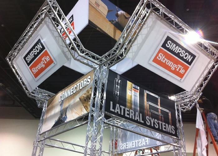 Simpson Strong-Tie Tradeshow Display