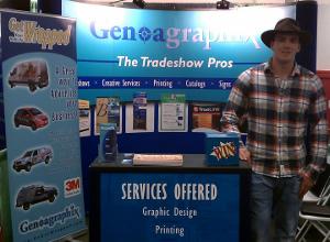 eGenoa Trade Show Booth