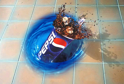 Pepsi Floor Graphic