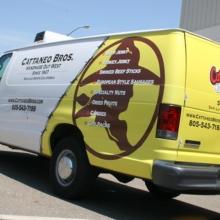 Cattaneo Bros Custom Van Graphics