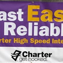 Charter Cable Custom Vinyl Banner