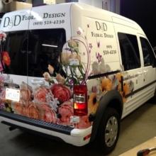 D&D Floral Design Custom Vehicle Graphics