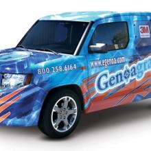 eGenoa Vehicle Wrap