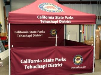 California State Parks Tehachapi District Display