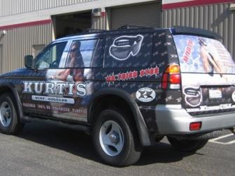 Kurtis Surf Goggles Truck Wrap
