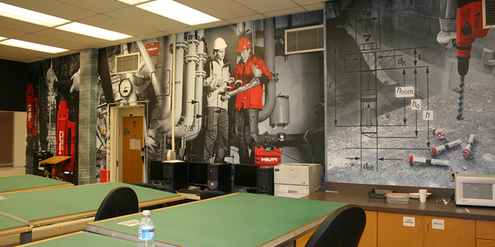 Full Wall Graphics