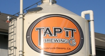 Tapit Brewery Tank Sign