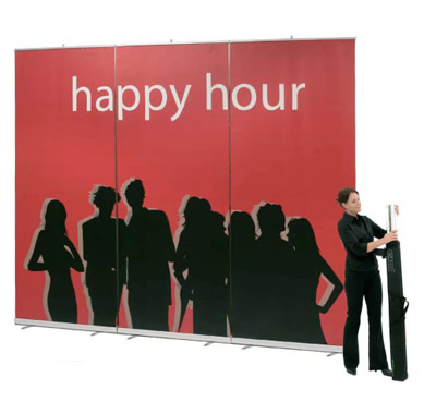 Extra Large Trade Show Banner Stand
