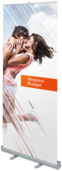 Messina Budget Retractable Banner Stand