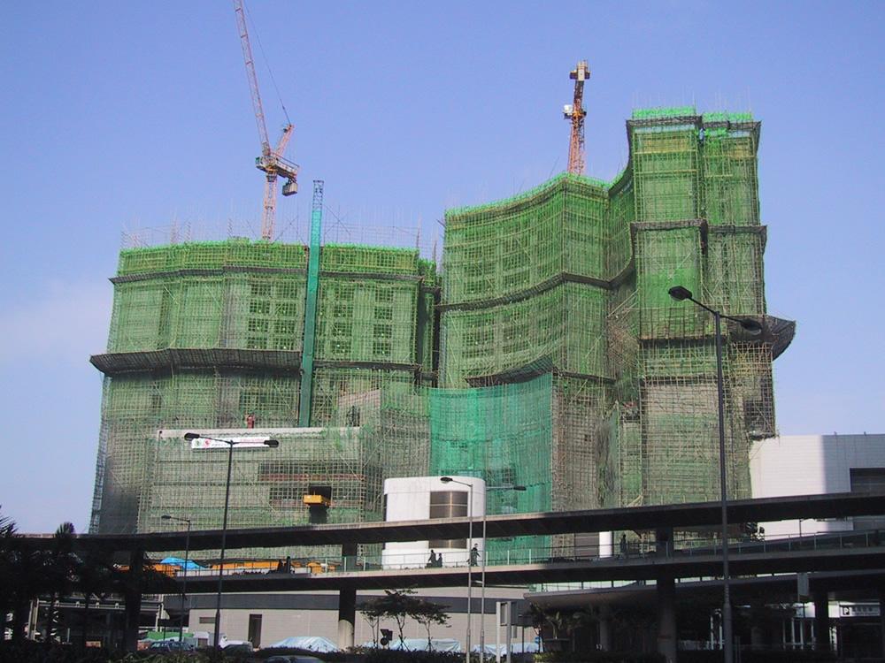 Bamboo Construction Scaffolding