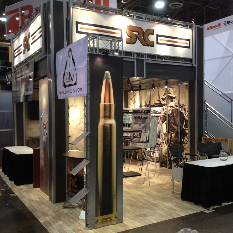 Trade Show Truss Display for Military