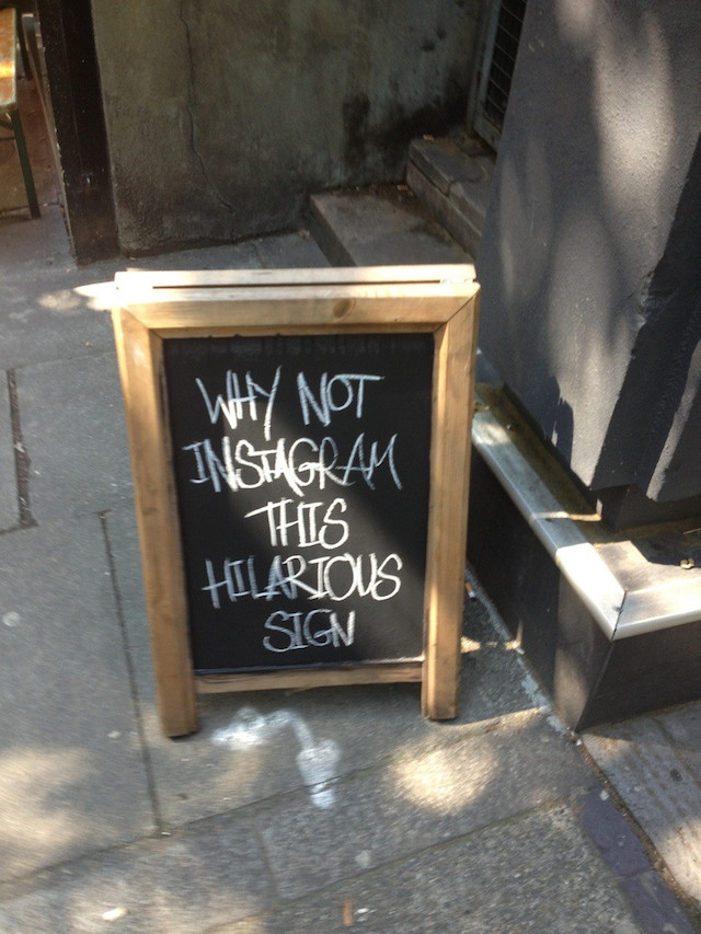 Instagram This Sign