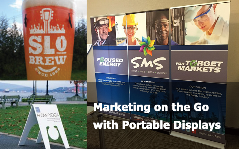 Marketing on the Go with Portable Displays