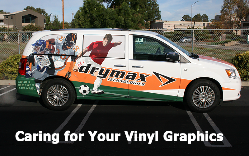 caring for vinyl graphics